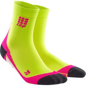 cep Dynamic+ - Chaussettes course à pied Femme - vert/rose